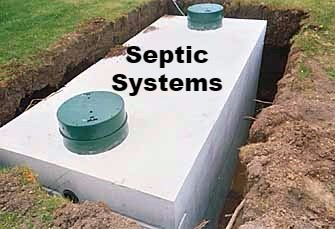 Dodd Construction Centre Alabama septic tanks and field lines