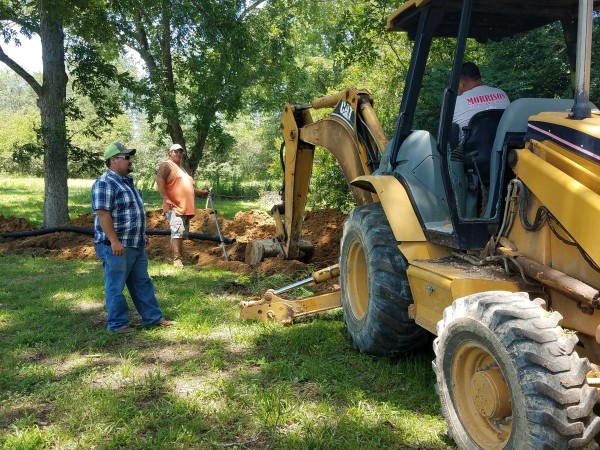 septic tank field lines centre alabama Dodd Construction