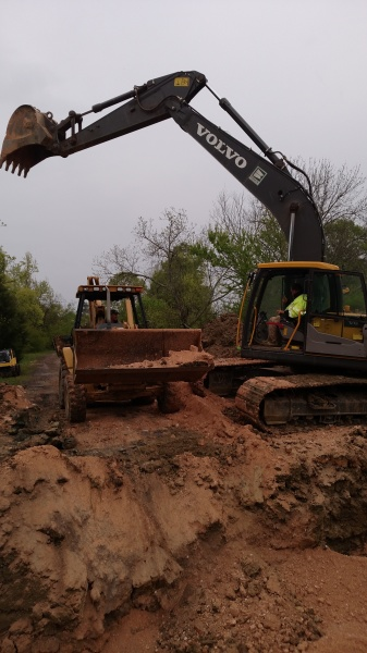 pea gravel driveway centre alabama Dodd Construction