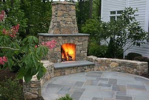 Patios and Fireplaces