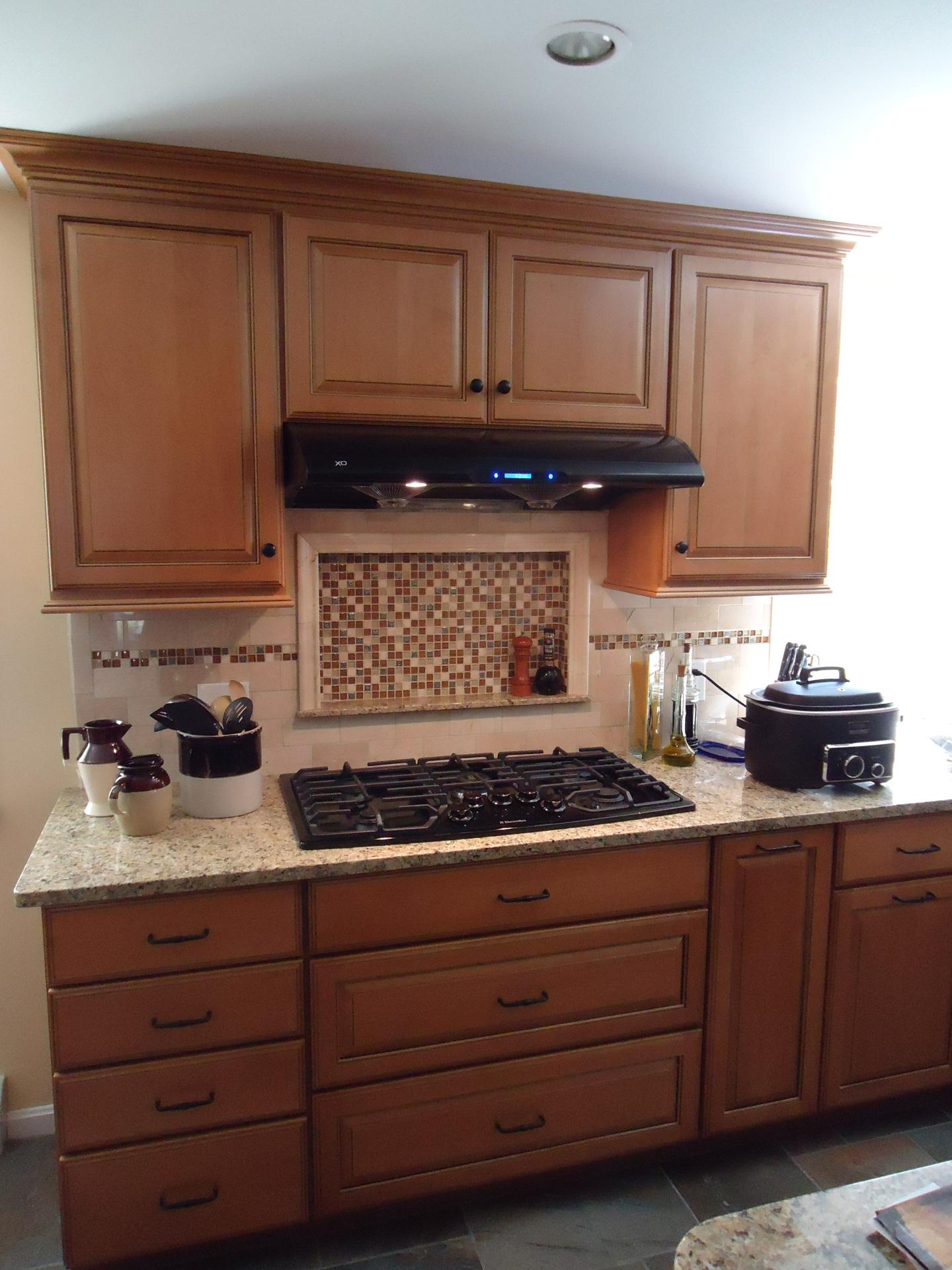 Honey Maple w/Glaze Kitchen