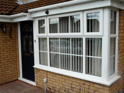upvc window bay window