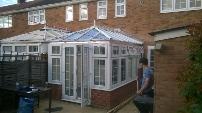 Repaired Conservatory in essex