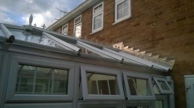 Conservatory roof repair in Benfleet