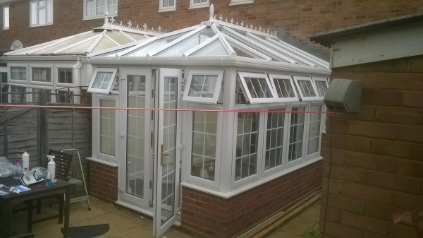 Conservatory roof repair