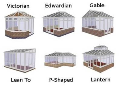 Conservatory types