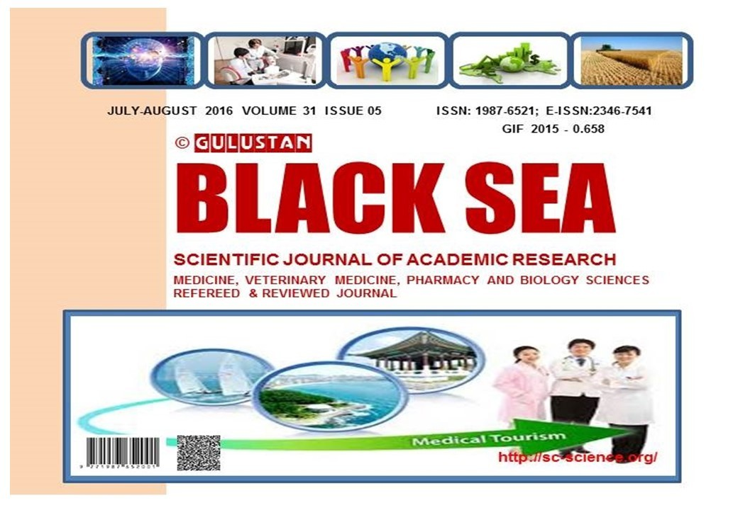GULUSTAN BLACK SEA SCIENTIFIC JOURNAL OF ACADEMIC RESEARCH