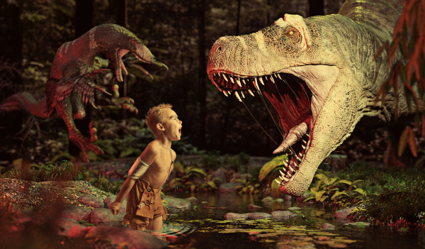 £45 Mini Dino Shoot and 1 AMAZING Retouched Image! Just £25 per additional image/s