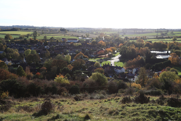 Village from Breedon Hill
