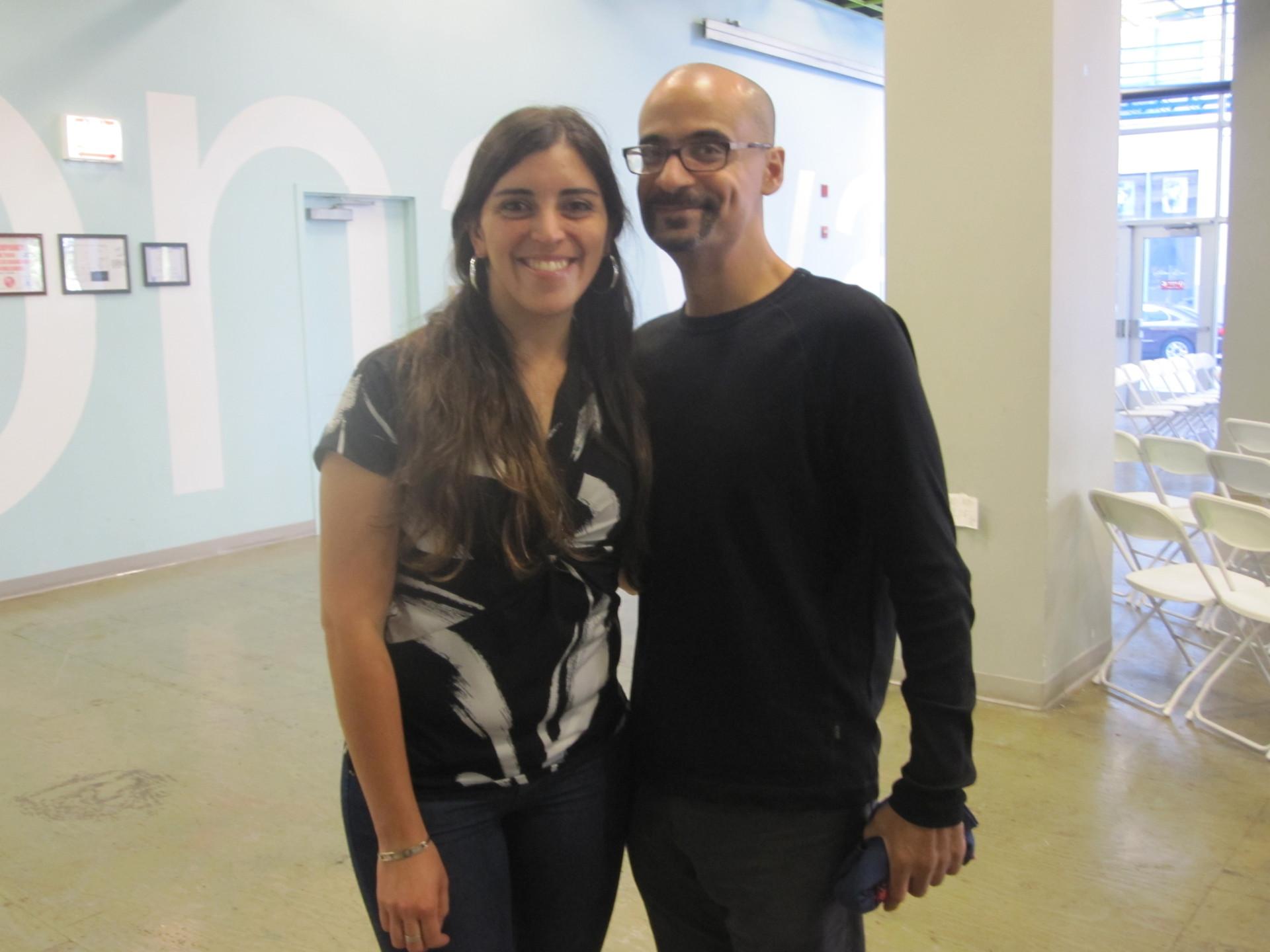 Meeting Junot Díaz. Chicago 2012