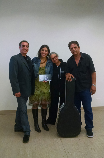 José Greco II, Carmela Greco and Antonio Garrabi with Ruth Camargo