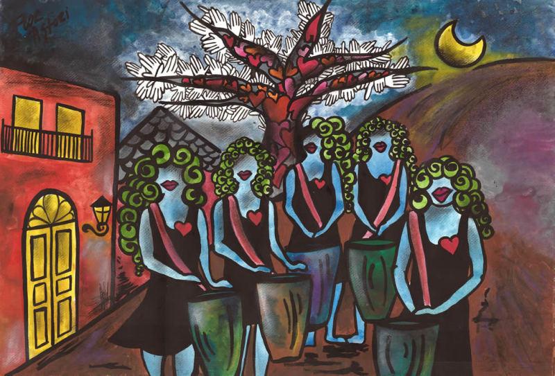 Flor Astori: Sin perder el color de tu alma