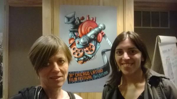 With Tina Leisch. April 2015