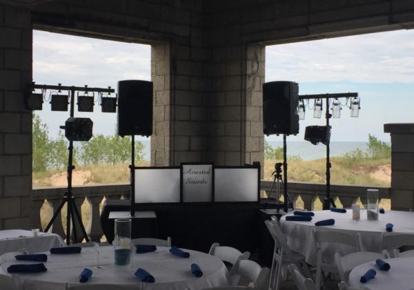 Wedding DJ, Aquatorium, Outdoor Wedding,
