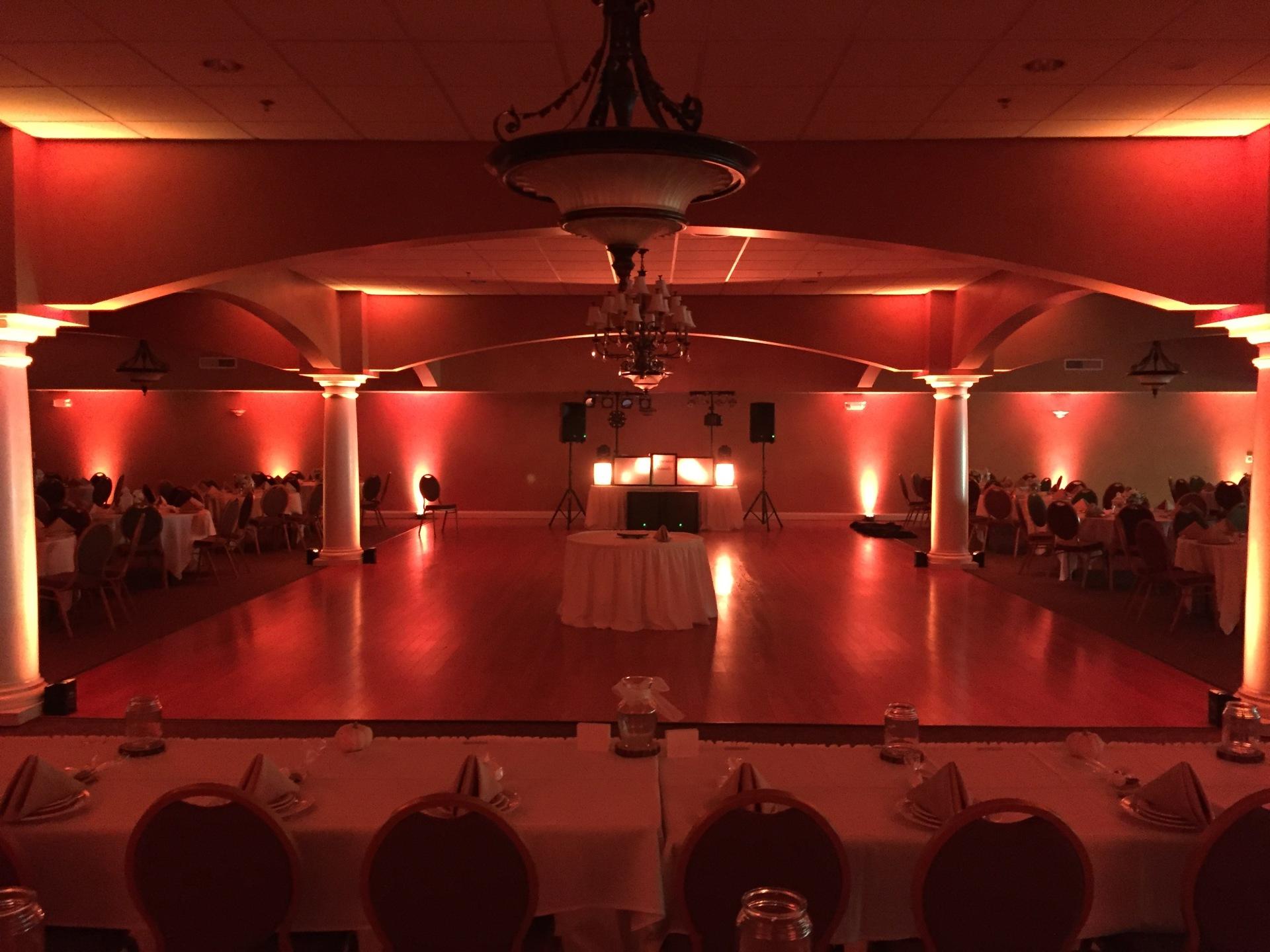 Trinity Hall St. Patricks Church Chesterton Wedding DJ Arrested Sounds