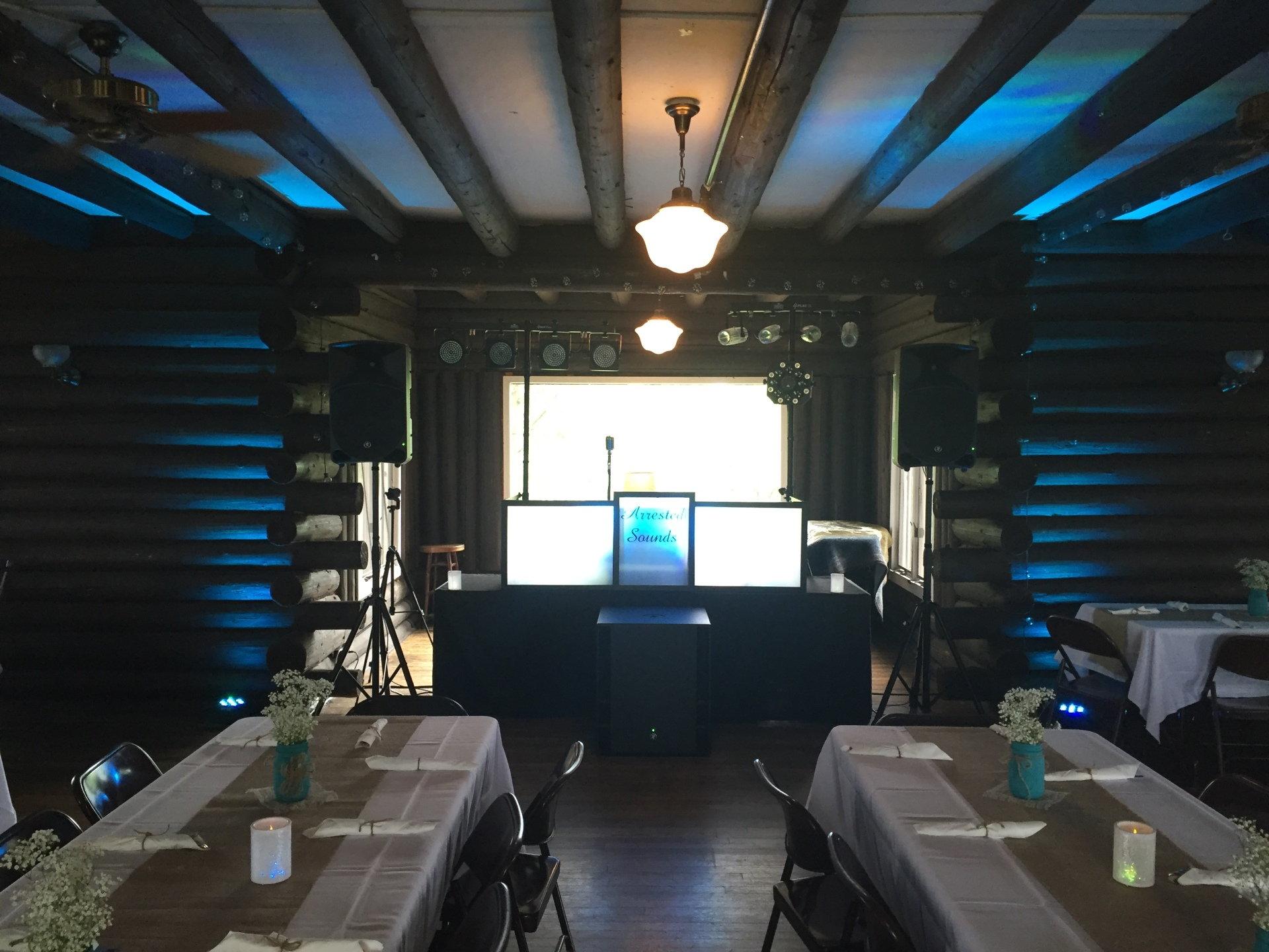 Arrested Sounds wedding DJ Dunes Acres Clubhouse