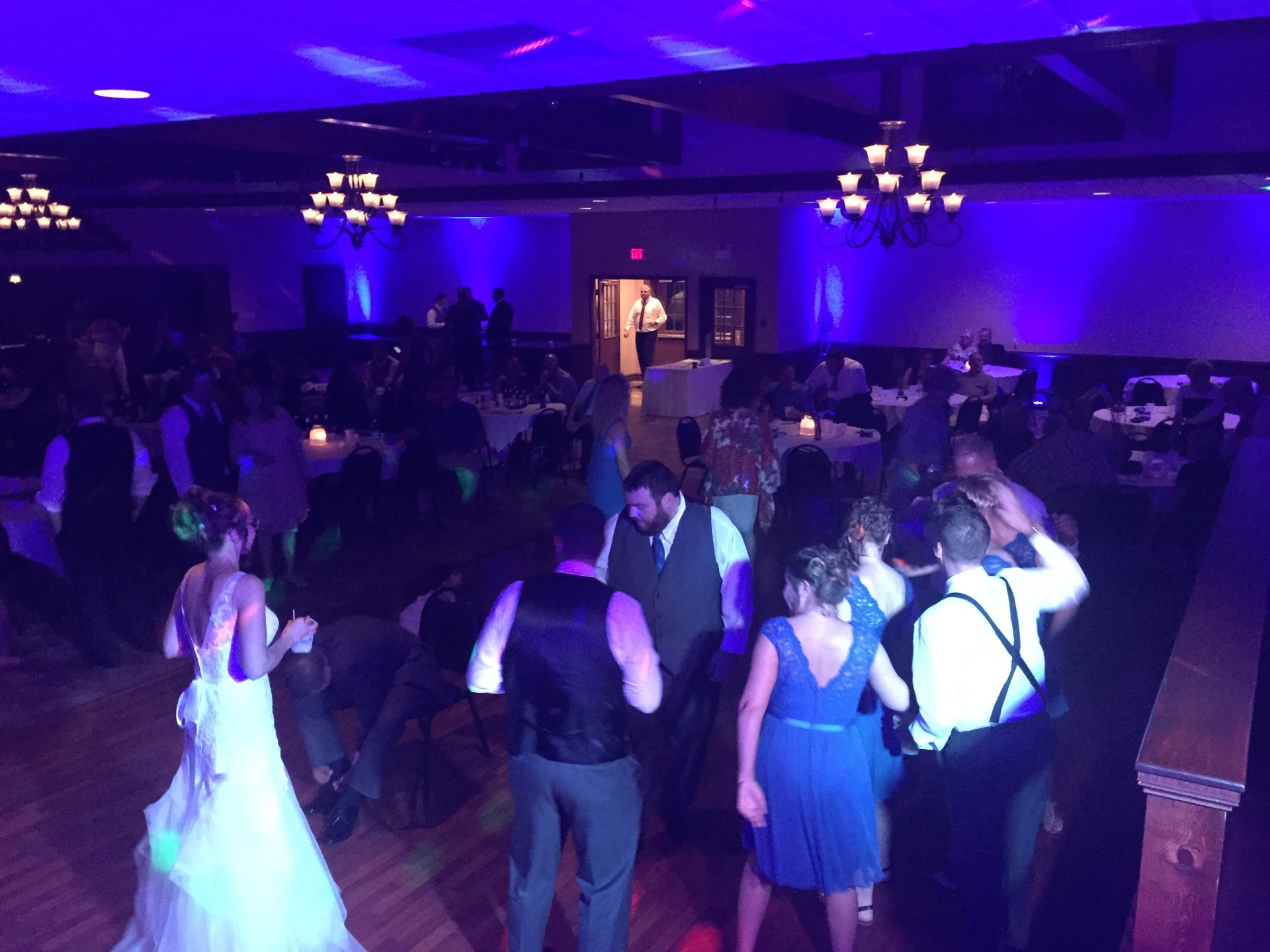 The Silver Palace La Porte Wedding DJ Arrested Sounds