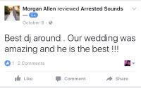 Aberdeen Manor Valparaiso Wedding DJ Review Arrested Sounds