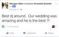 Aberdeen Manor Valparaiso Wedding DJ Review Arrested Sounds
