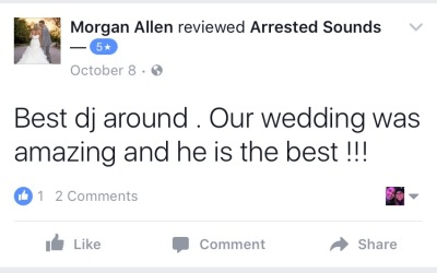 Arrested Sounds Wedding DJ, Chesterton, Valparaiso, Portage, Michigan City, Laporte