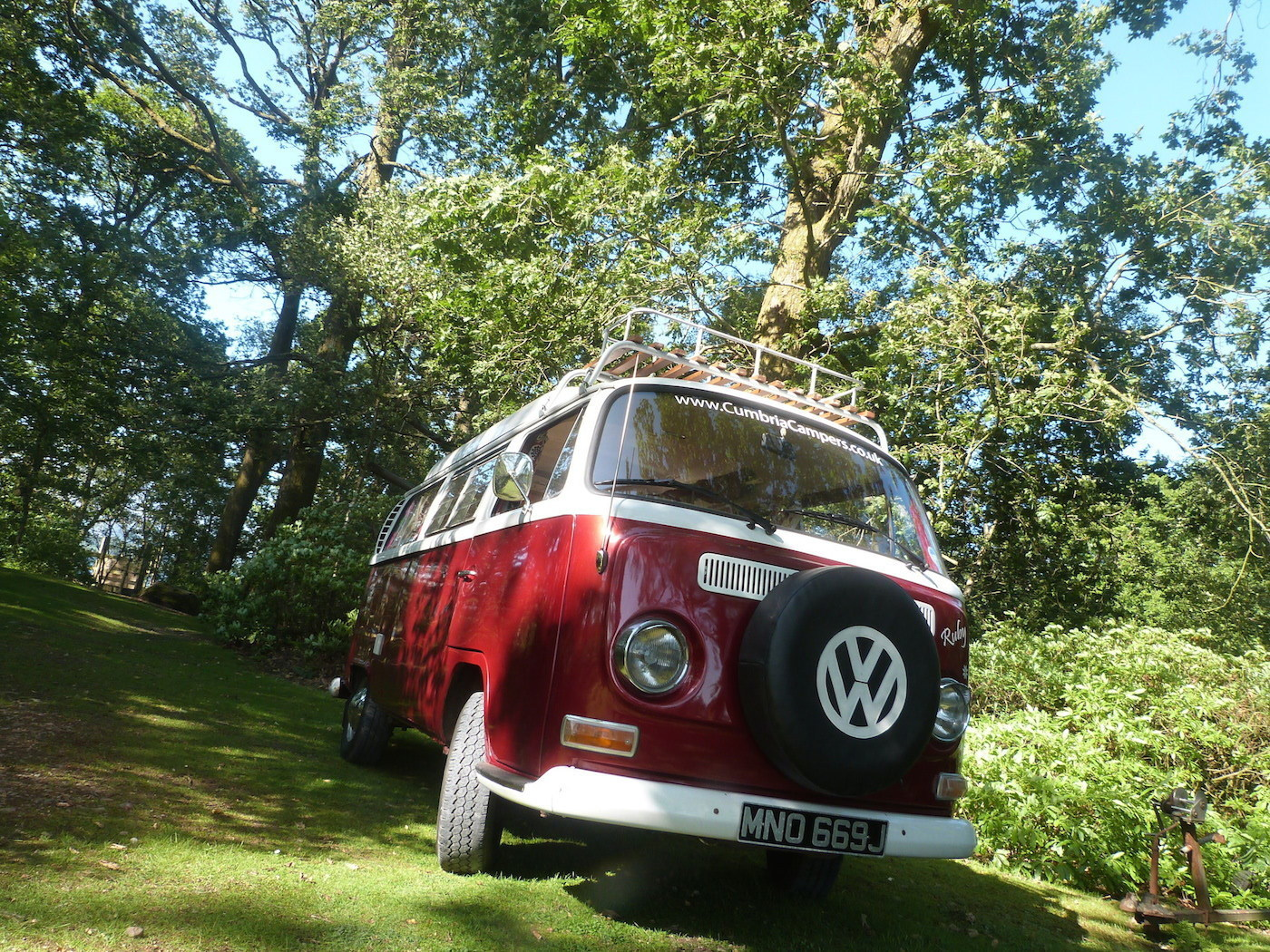 vw camper hire from Pomona, explore the lakes