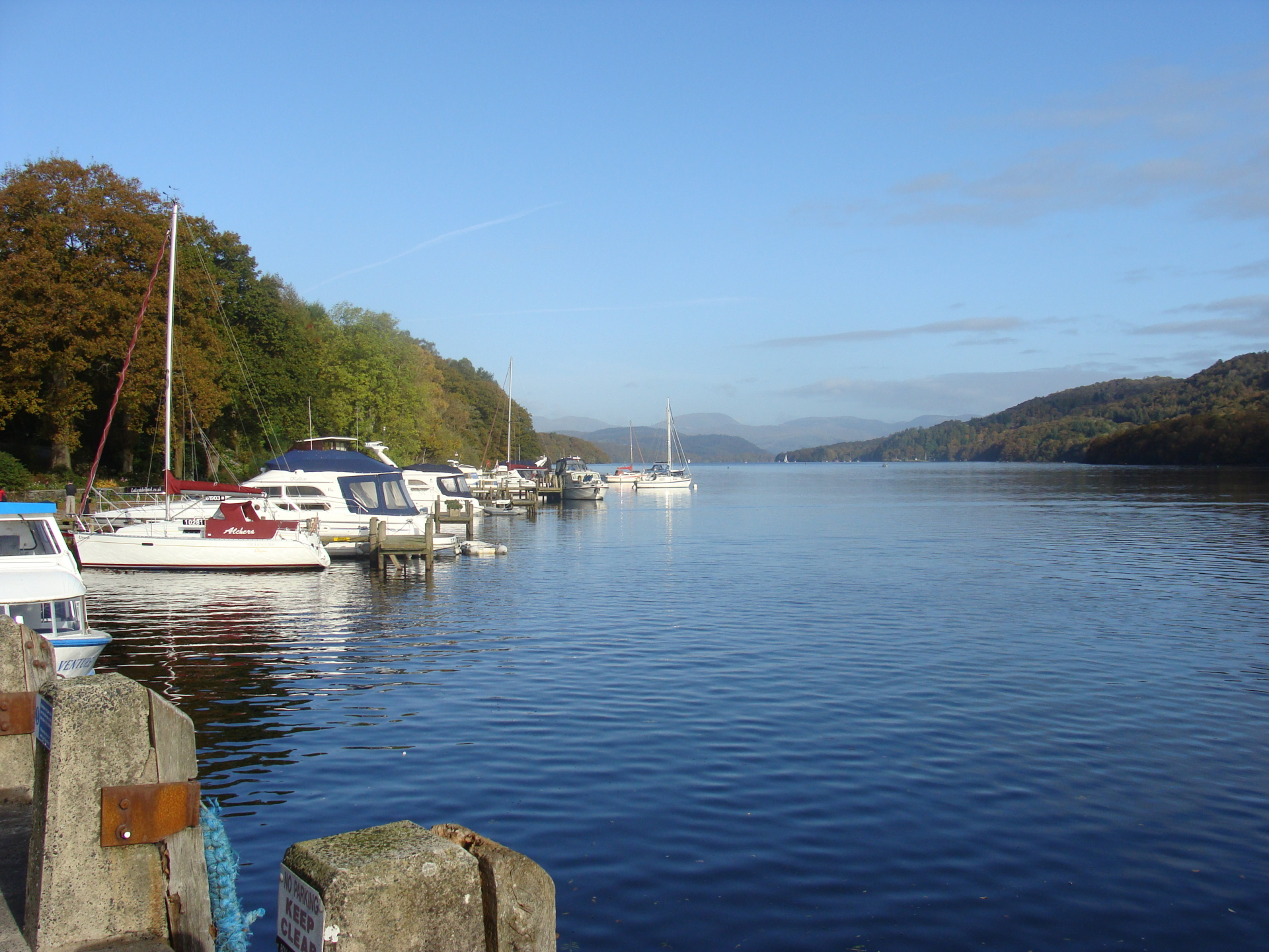Boating on Windermere