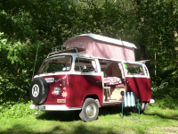 b&b coniston, hire our vw camper van