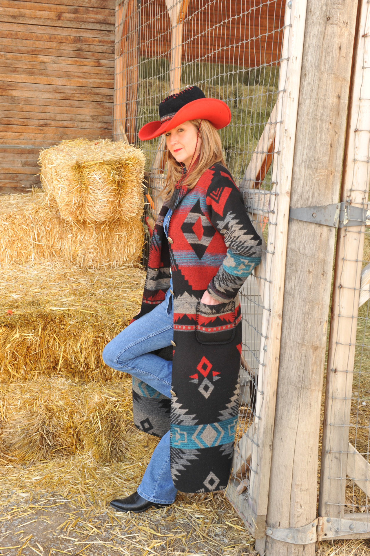 900DKR - RED DAKOTA DUSTER -- $229.95