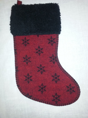 #STSNRD - RED SNOWFLAKE