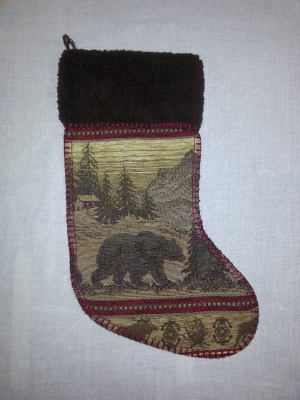 #STBL - BEAR LODGE TAPESTRY