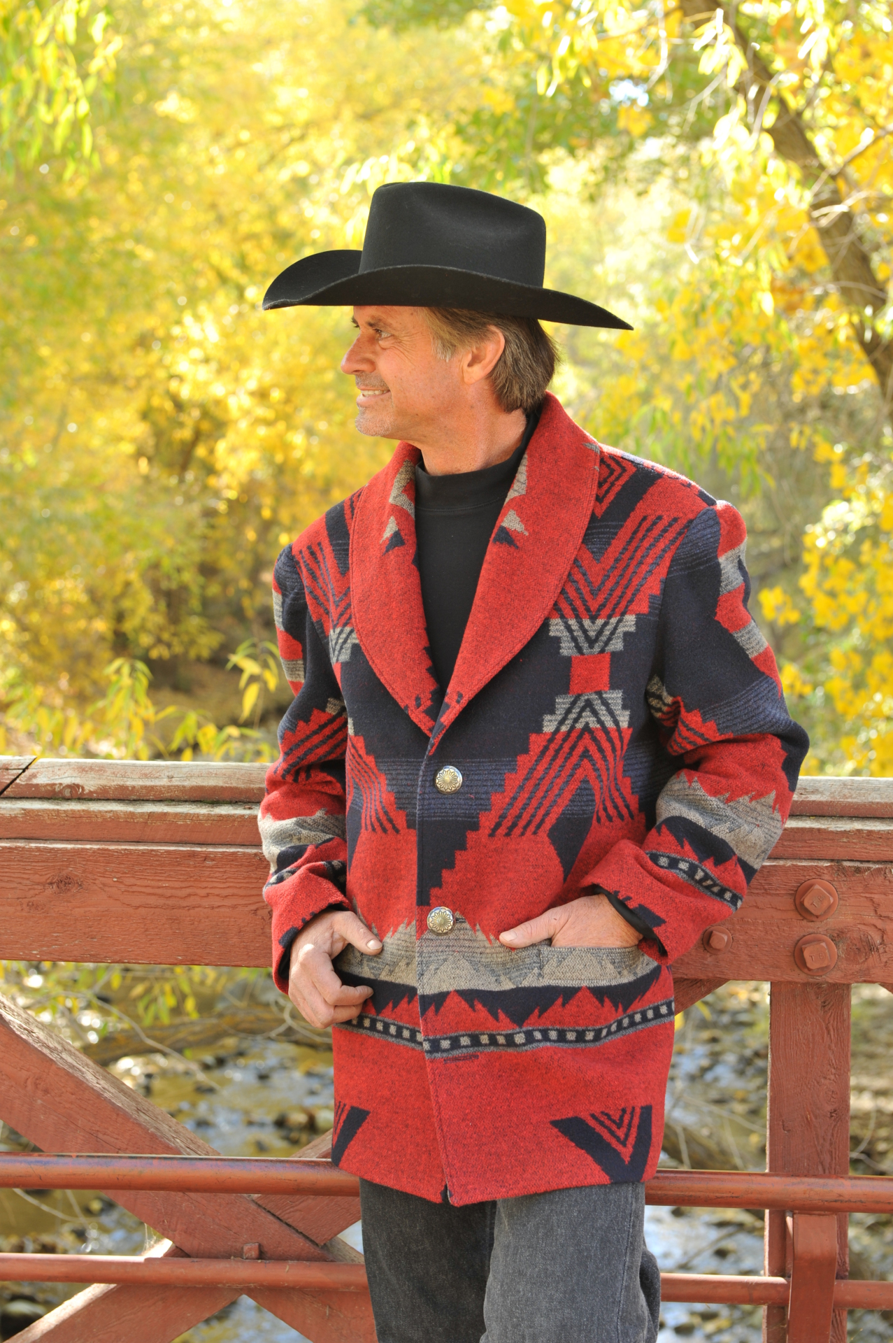 M859 - RANCHER JACKET (lined)    $499.95 (STYLE ONLY - fabric sold out)