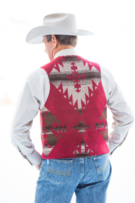 #M150RB - RED BUTTE MEN'S VEST - BACK - SOLD OUT!