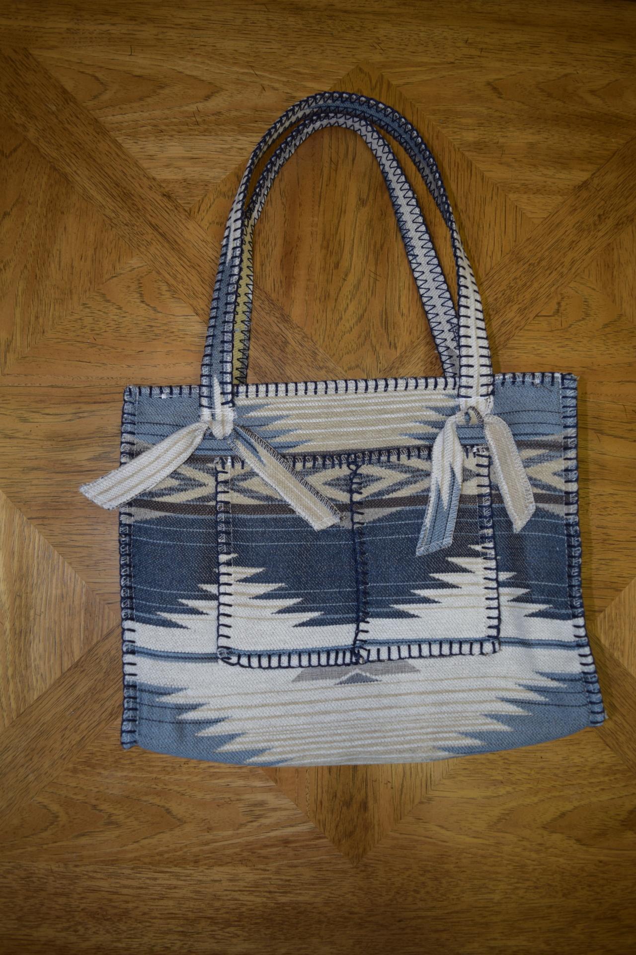 #B10TBB - BLUE THUNDERBIRD POCKET ZIP BAG - $99.95