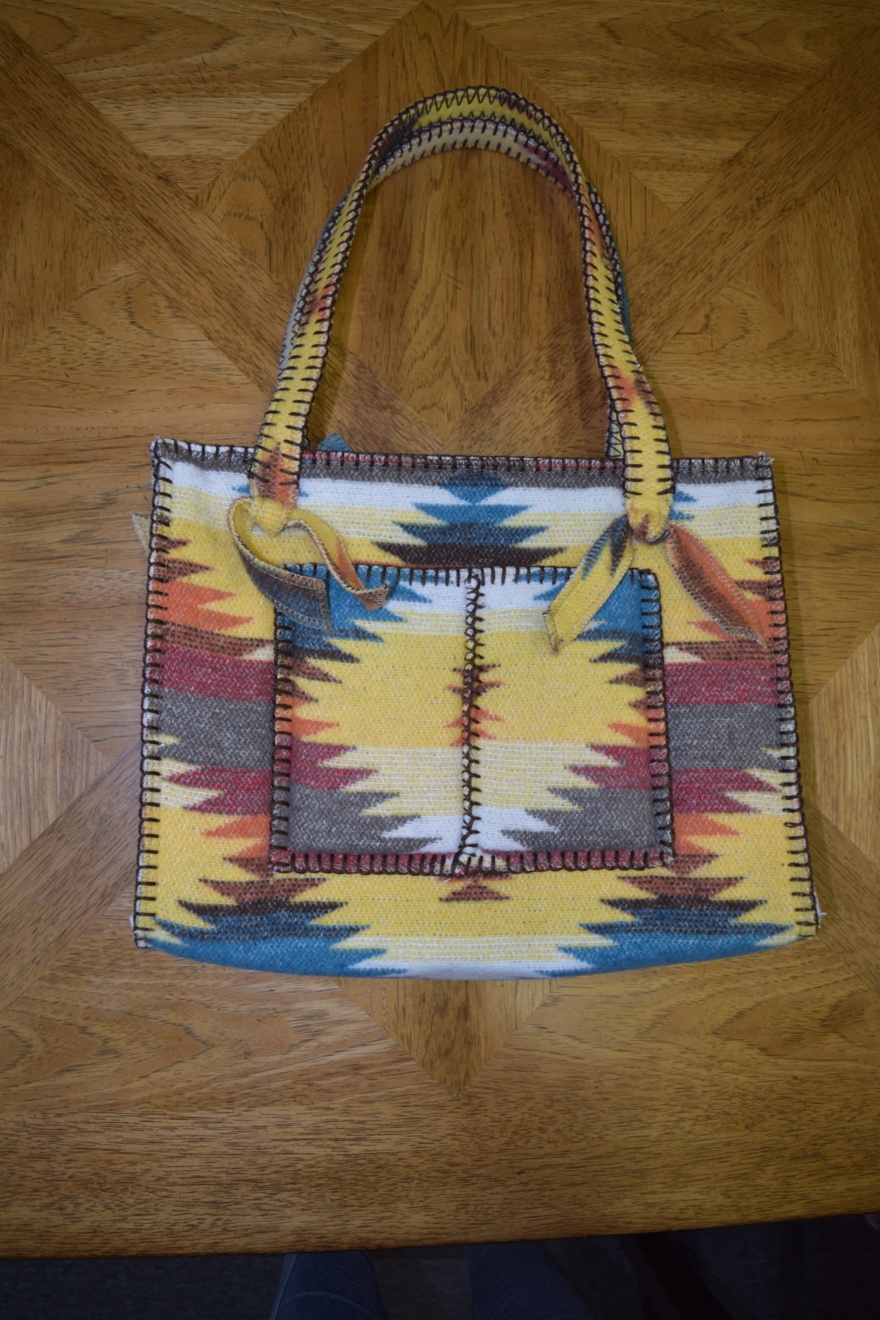 #B10SD - SUNNY DAZE POCKET ZIP BAG - $99.95