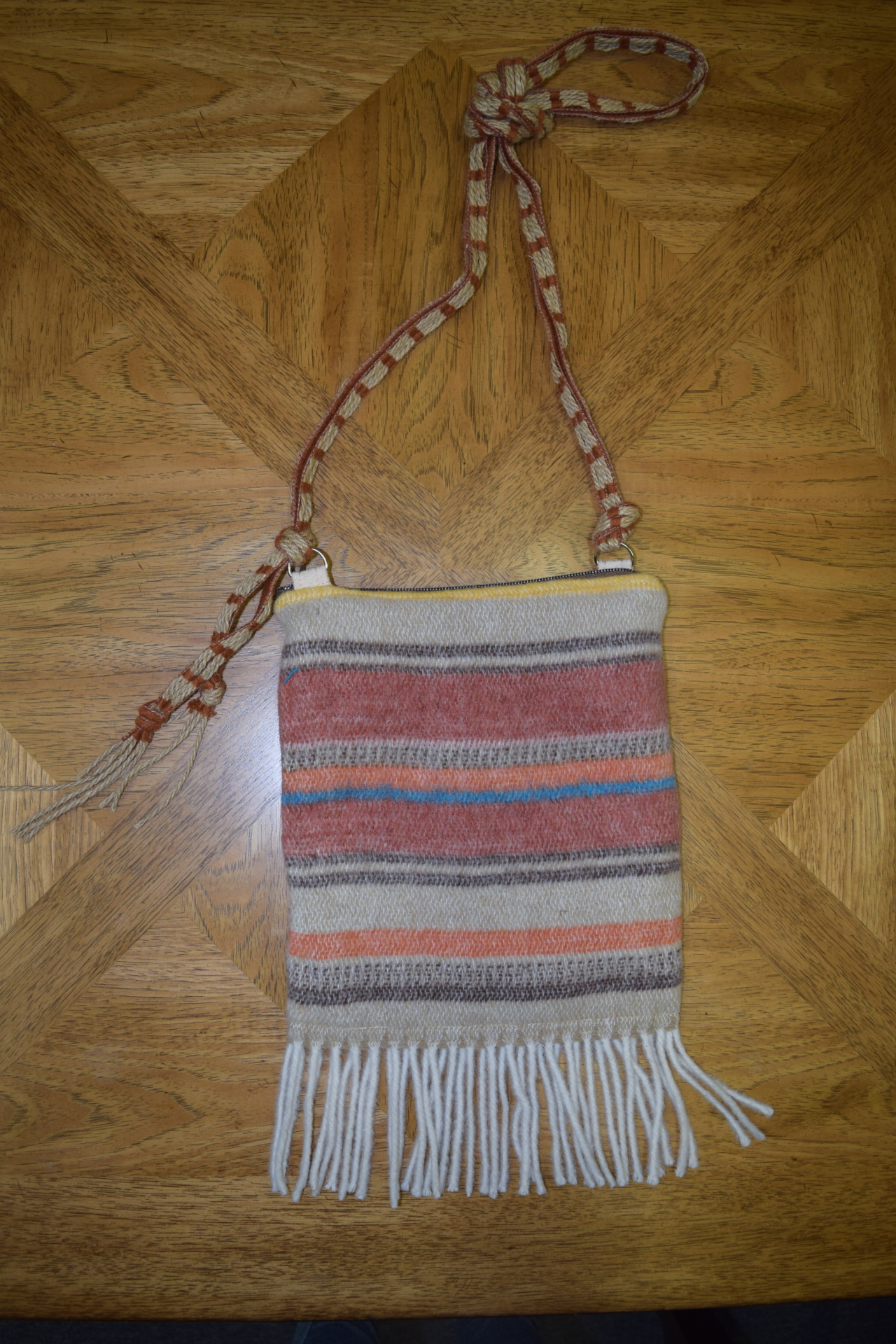 #B07 ARAPAHOE FRINGE ZIP BAG - $89.95