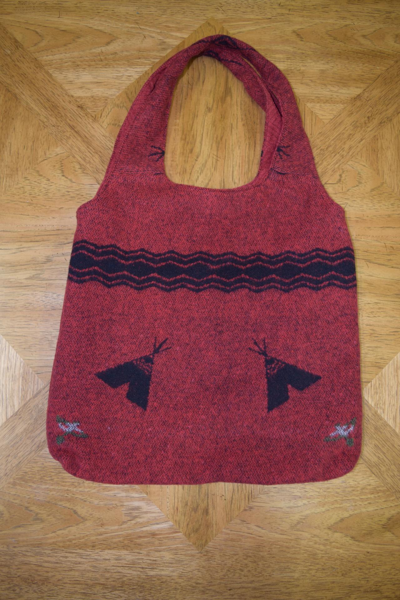 #B15 RED TEE PEE SHOULDER BAG - $89.95