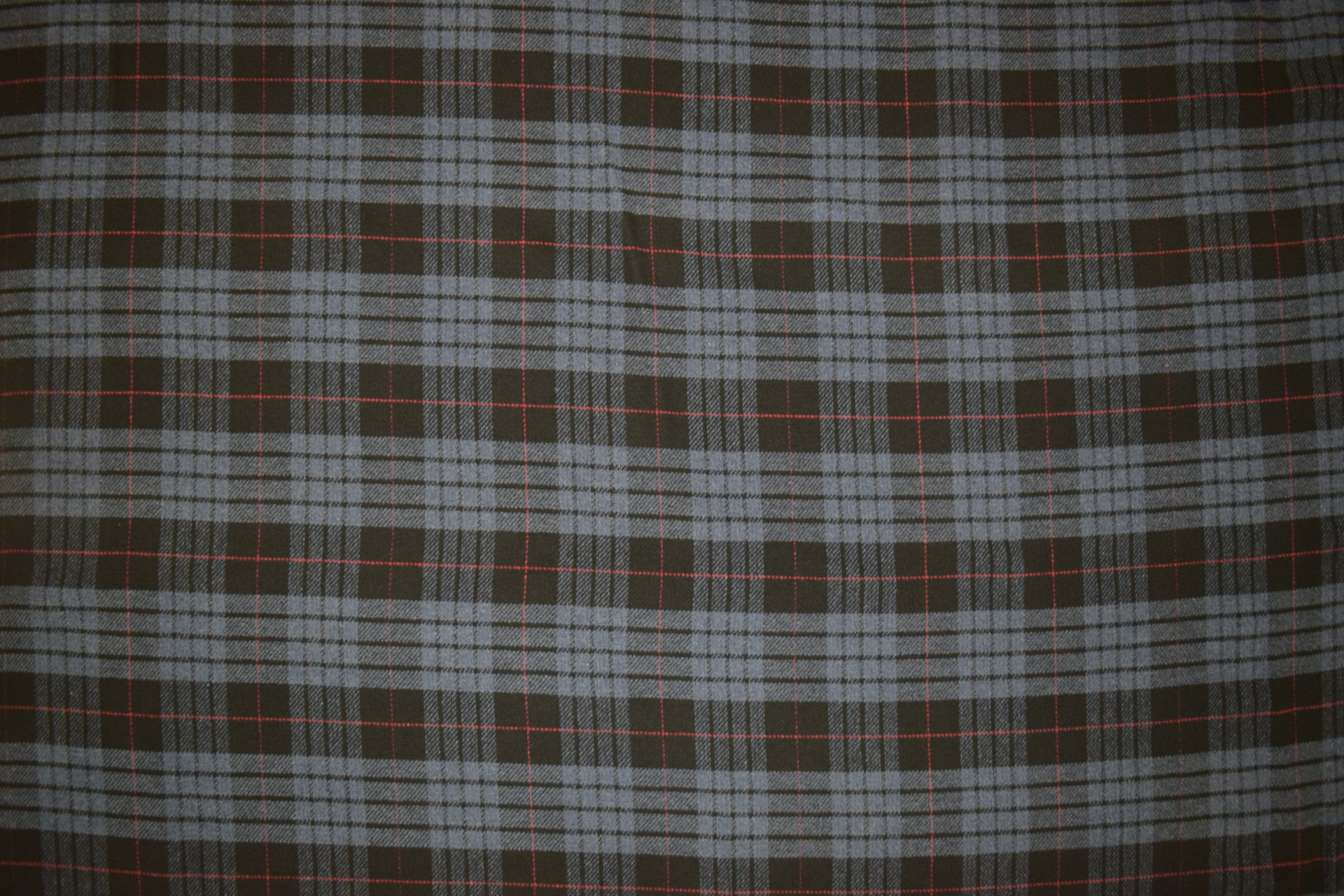 "TPB - BLUE TARTAN PLAID B.S. THROW - 60"" w x 72"" long - $119.95 -- SALE $79.95"