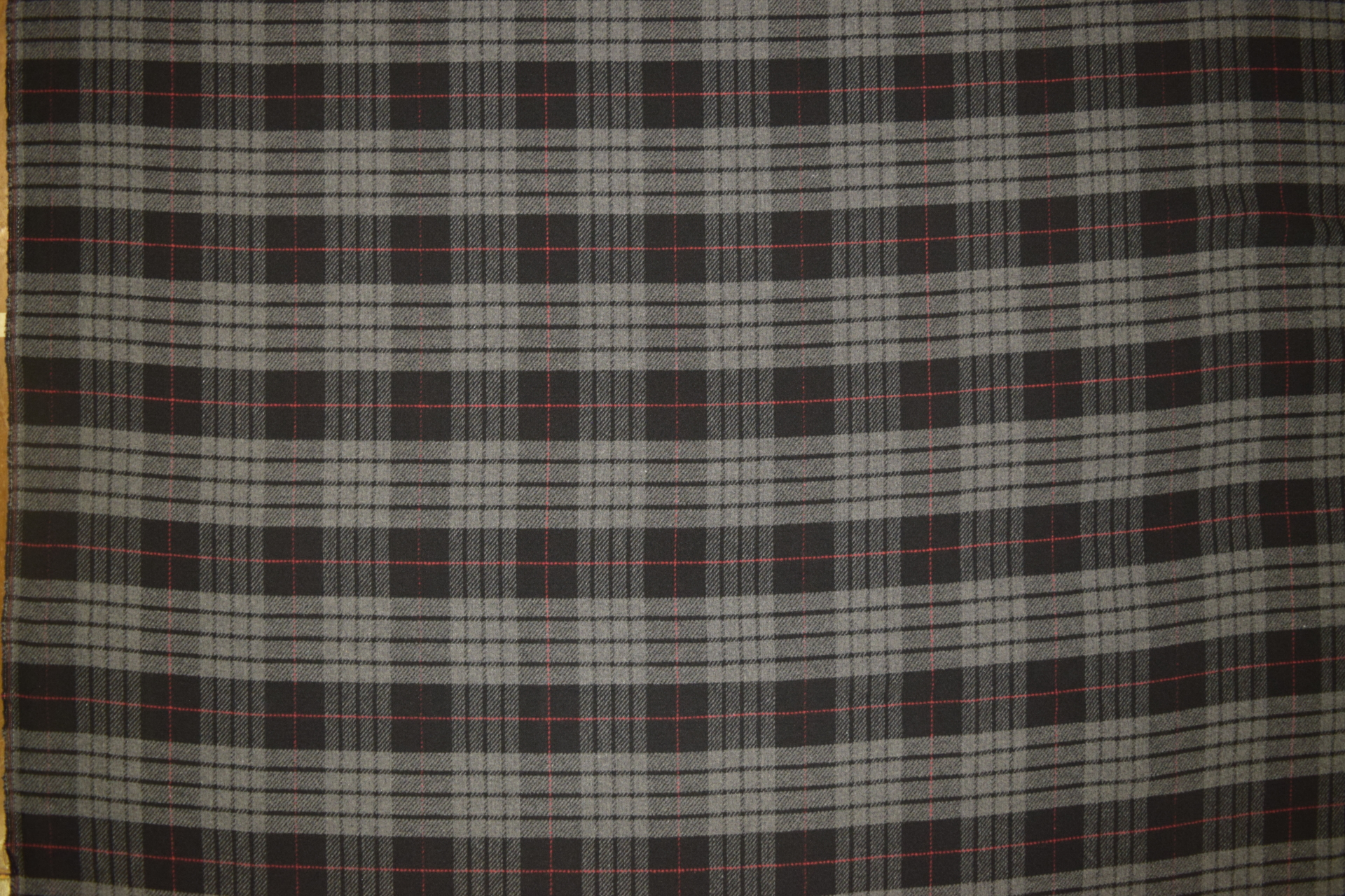 "TPG - GREY TARTAN PLAID B.S. THROW-  60"" w x 72"" long - $119.95 -- SALE $79.95"