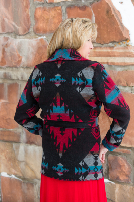 #865DR - DURANGO WRAP COAT - back