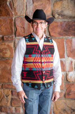 #M150ZB - BLACK ZUNI MEN'S VEST