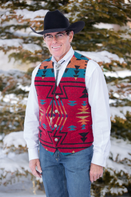 #M150ZR - RED ZUNI MEN'S VEST