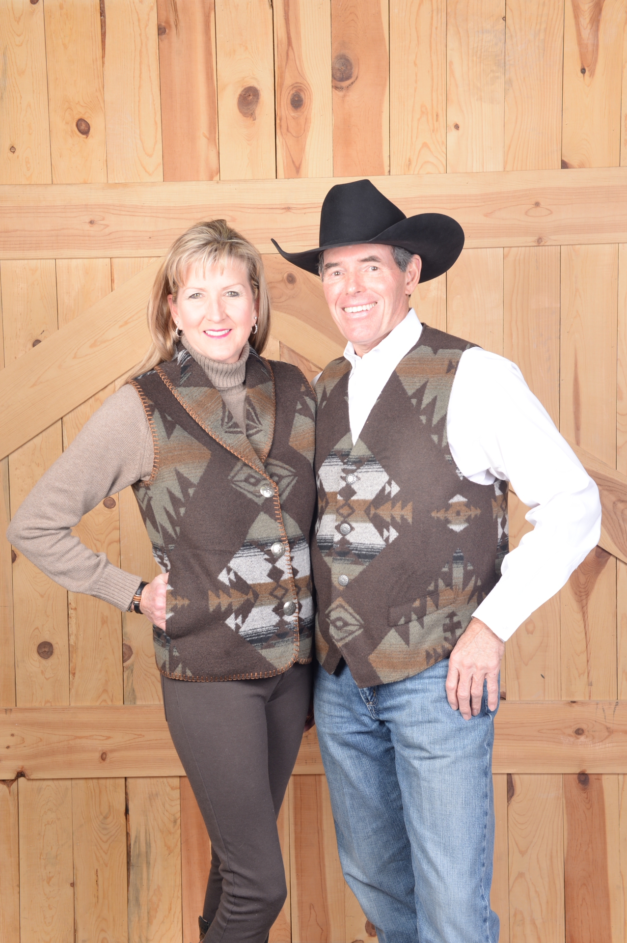 KEMOSABE  VESTS - #130 Ladies' vest S - 2X - $99.95 - Men's S-XL -- $169.95 - 2X - 3X & Talls are $179.95