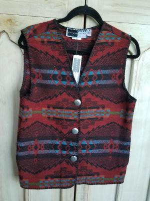 #129FR - RED WILDFIRE V-VEST -- WAS $84.95 -- SALE $42.47 -- SMALL ONLY!