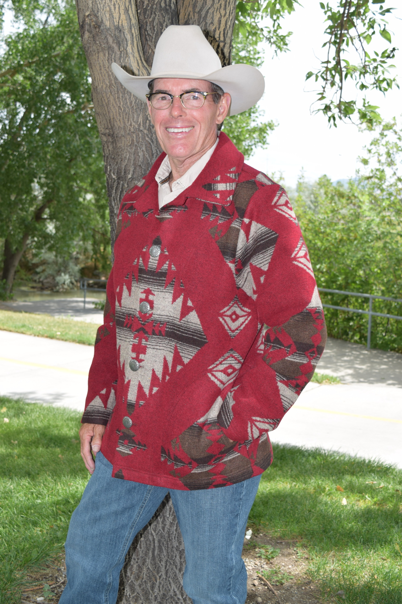 #M858RB - RED BUTTE MEN'S TRAIL COAT - SOLD OUT!