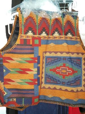 #115TS - TAOS SOUTHWEST VEST - back