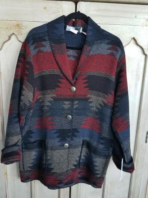 #875DS - DESPERADO CAR COAT - $179.95 -- OUTLET SALE $89.97 -- SMALL ONLY!