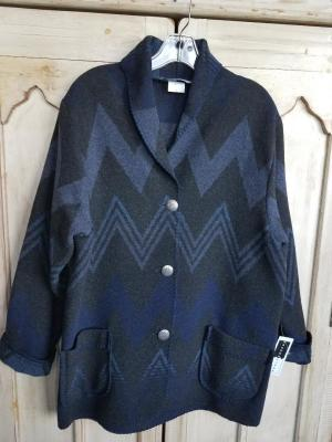 #875WM - MIDNIGHT WIGWAM CAR COAT - $179.95 -- OUTLET SALE $50!  Large ONLY!