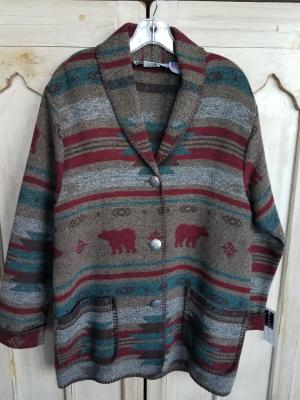 #875YS - YELLOWSTONE CAR COAT - $179.95 -- OUTLET SALE $50!!  SMALL ONLY!