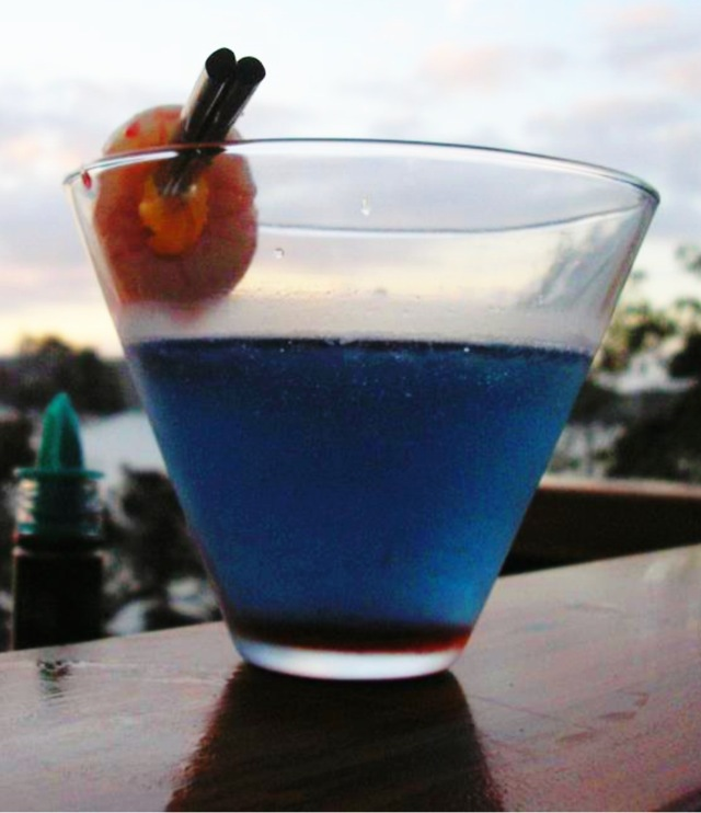 Blue Monkey cocktail