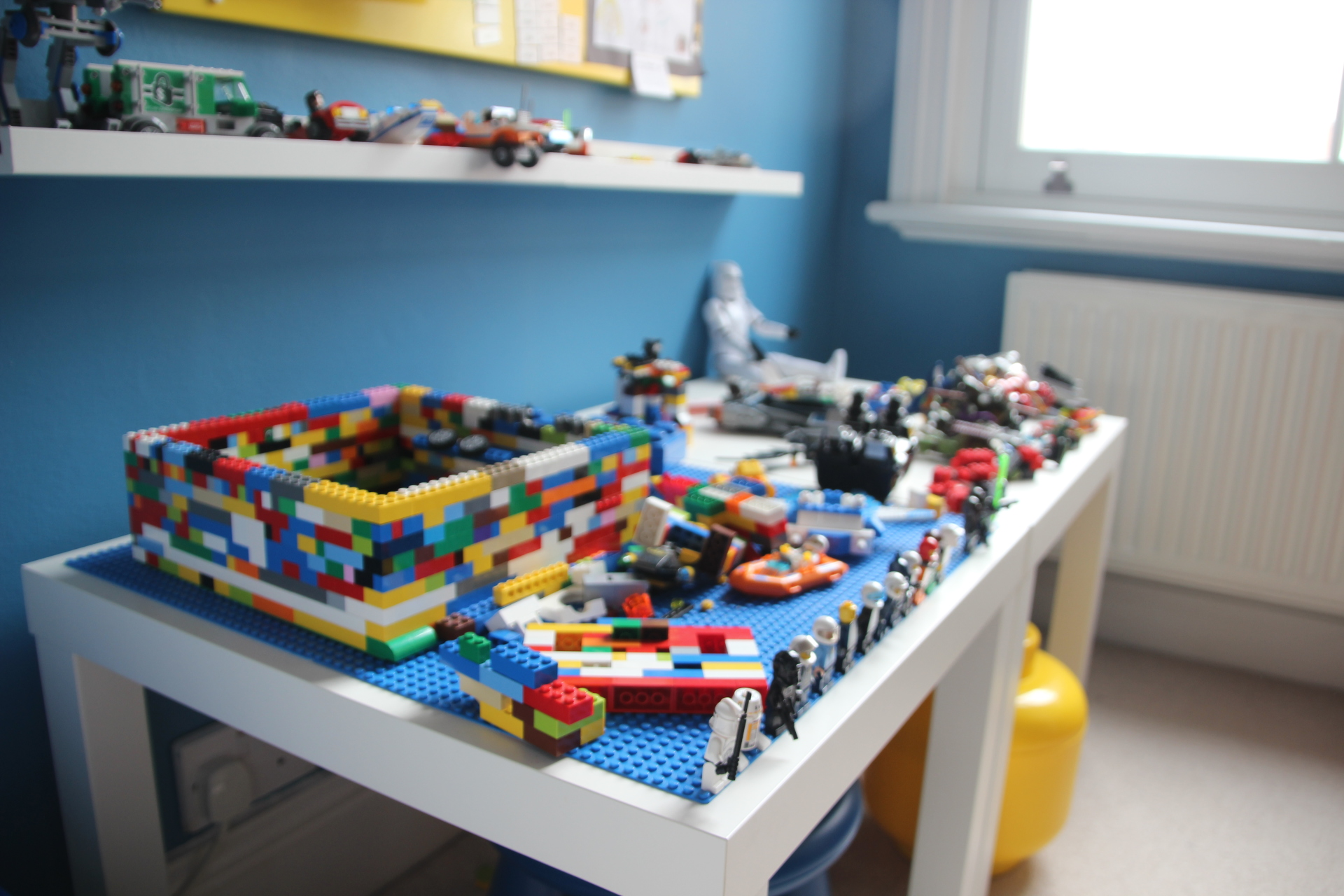 Lego Construction Table